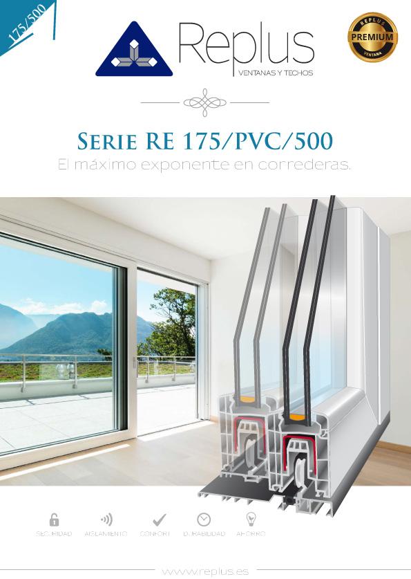 VENTANA ELEVABLE RE 175/PVC/500