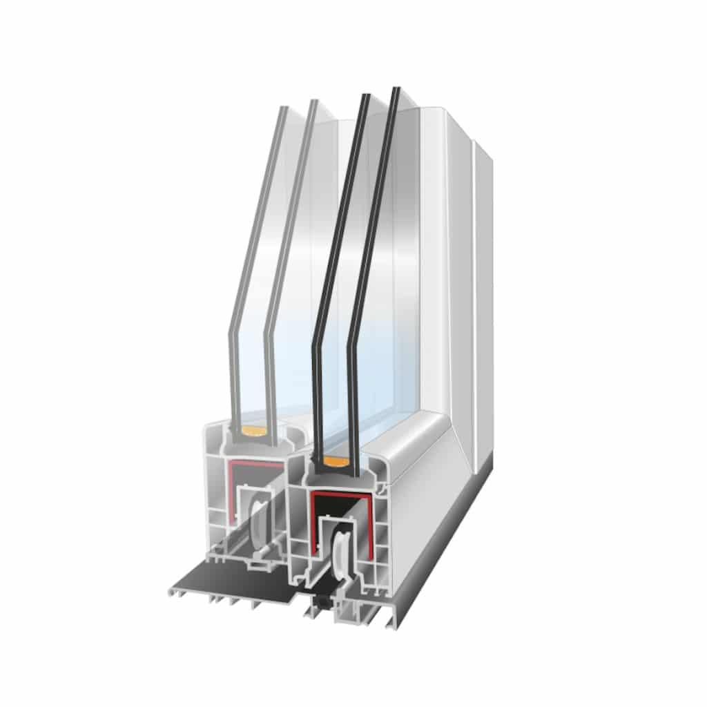 ventanas de PVC corredera